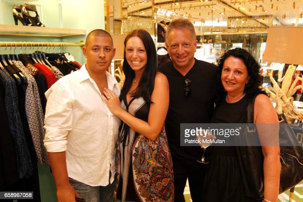Joe Sanci Nicole Rubin Marc Rubin and Linda Rubin attend Charity event for Best Buddies with The Turks Caicos Sporting Clubre at Tory Burch Store on...