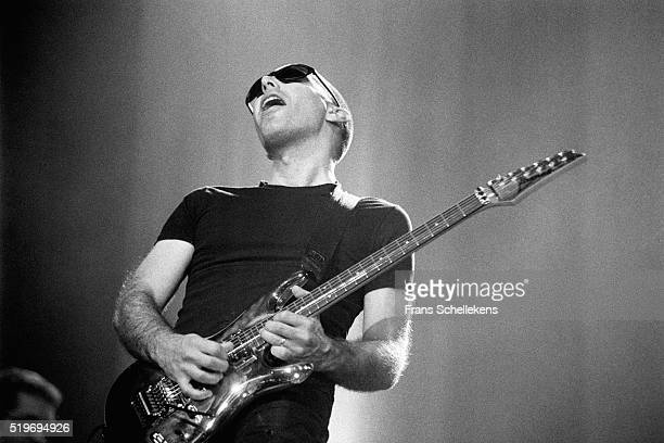 Joe Satriani, guitar, performs on July 14th 1996 at the North Sea Jazz Festival, The Hague, Netherlands.