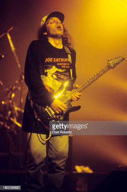 Joe Satriani perfoms at the Beacon Theatre in New York City on March 2 1994