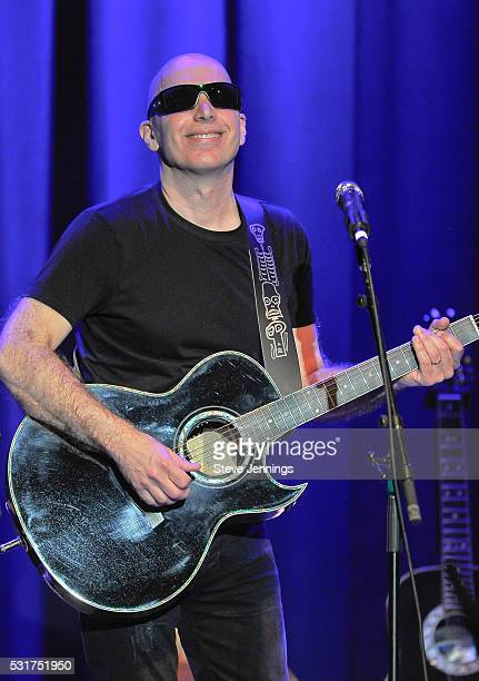 Joe Satriani performs at the 3rd Annual Acoustic4ACure concert a Benefit for the Pediatric Cancer Program at UCSF Benioff Children's Hospital at The...