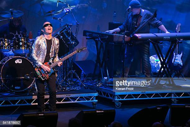 Joe Satriani performs at Vicar Street on June 20 2016 in Dublin