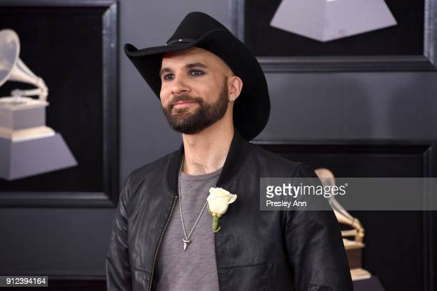 Joe Saylor attends the 60th Annual GRAMMY Awards Arrivals at Madison Square Garden on January 28 2018 in New York City