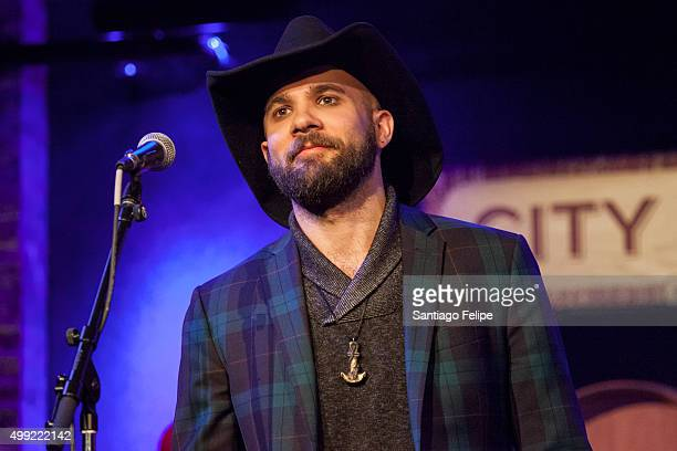 Joe Saylor performs onstage during The Music of Allen Toussaint at City Winery on November 29 2015 in New York City