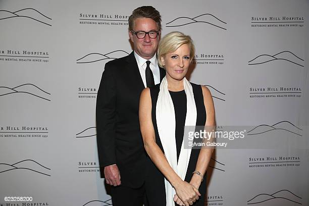 Joe Scarborough and Mika Brzezinski attend Silver Hill Hospital 2016 Giving Hope Gala at Cipriani 42nd Street on November 14 2016 in New York City