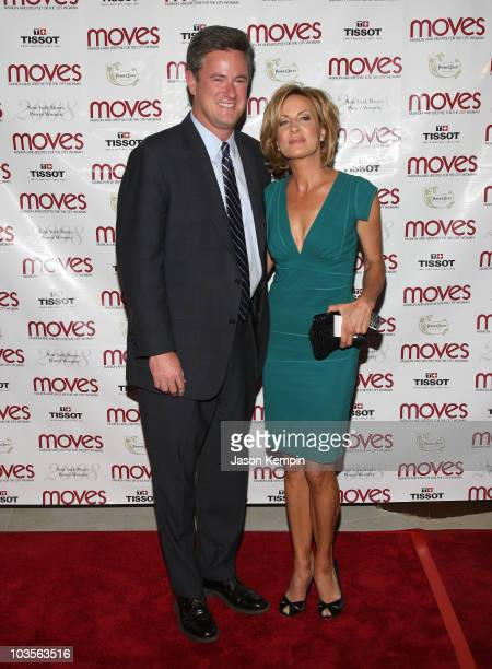 Joe Scarborough and Mika Brzezinski attend the 5th Annual Moves Power Women Awards at The Carlton on September 23 2008 in New York City