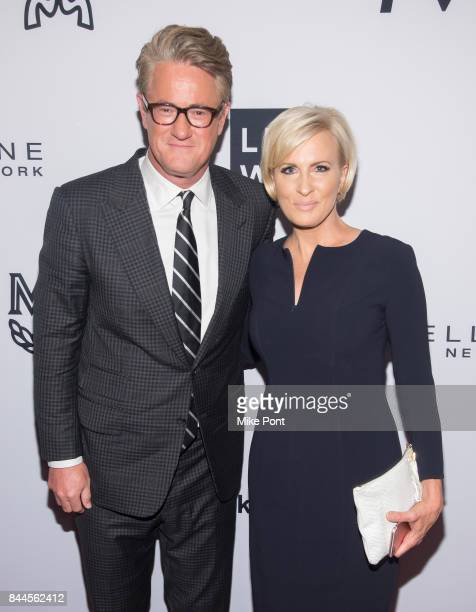 Joe Scarborough and Mika Brzezinski attend the Daily Front Row's Fashion Media Awards at Four Seasons Hotel New York Downtown on September 8 2017 in...