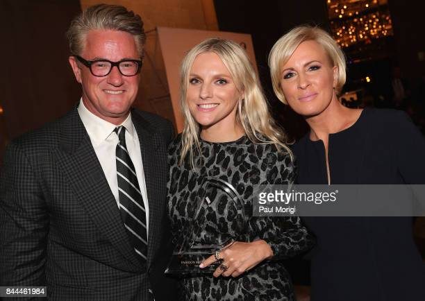 Joe Scarborough Laura Brown and Mika Brzezinski attend the Daily Front Row's Fashion Media Awards at Four Seasons Hotel New York Downtown on...