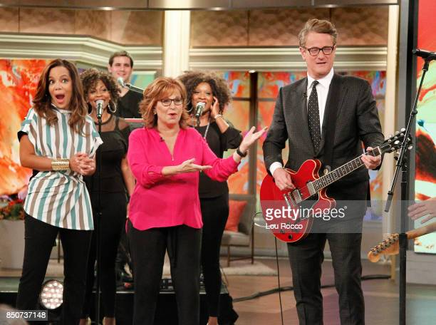 THE VIEW Joe Scarborough performs with his band Thursday 9/21/17 on Walt Disney Television via Getty Images's The View The View airs MondayFriday on...