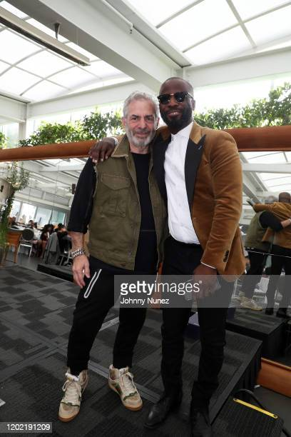 Joe Schick and Bryan Michael Cox attend the Bryan Michael Cox 16th Annual Music And Memory PreGrammy Brunch 2020 at SLS Hotel on January 26 2020 in...