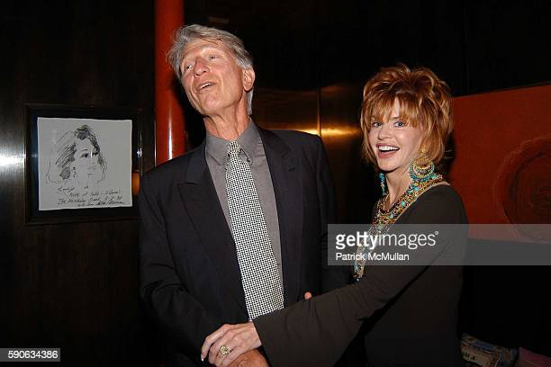 Joe Sciabica and attend An Evening with Ivana Trump hosted by Nikki Haskell at Nikki Haskell's Penthouse on July 19 2005 in Beverly Hills CA