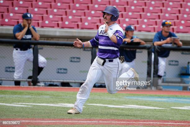 Joe Sheeran of West Chester University scores a run against UC San Diego during the seventh inning of the Division II Men's Baseball Championship...