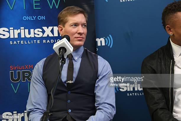 Joe Sikora visits SiriusXM Urban View with Karen Hunter at SiriusXM Studios on May 20 2015 in New York City