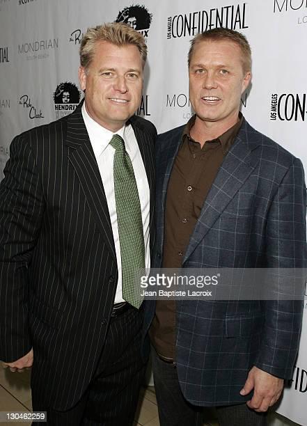 Joe Simpson and Craig Dieffenbach, CEO of Hendrix Electric Vodka