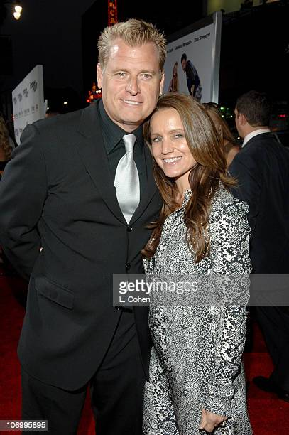 """Joe Simpson and Tina Simpson during """"Employee of the Month"""" Premiere - Red Carpet at Mann's Chinese Theater in Hollywood, California, United States."""