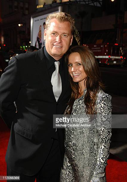 """Joe Simpson and Tina Simpson during LionsGate's """"Employee of the Month"""" Los Angeles Premiere at Mann's Chinese Theater in Hollywood, California,..."""
