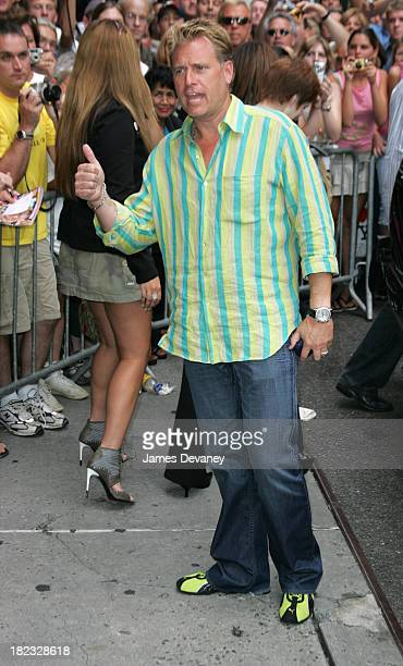 Joe Simpson during Jada PinkettSmith and Jessica Simpson Visit the Late Show with David Letterman August 5 2004 at Ed Sullivan Theatre in New York...