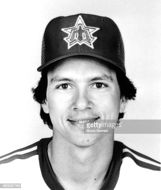 Joe Simpson of the Seattle Mariners poses for a portrait in March 1981 in Seattle Washington