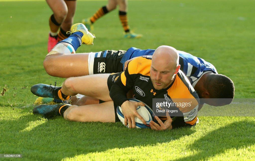 Wasps v Bath Rugby - Heineken Champions Cup : News Photo