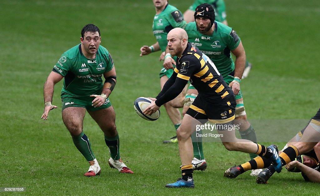 Wasps v Connacht Rugby - European Rugby Champions Cup : Nachrichtenfoto