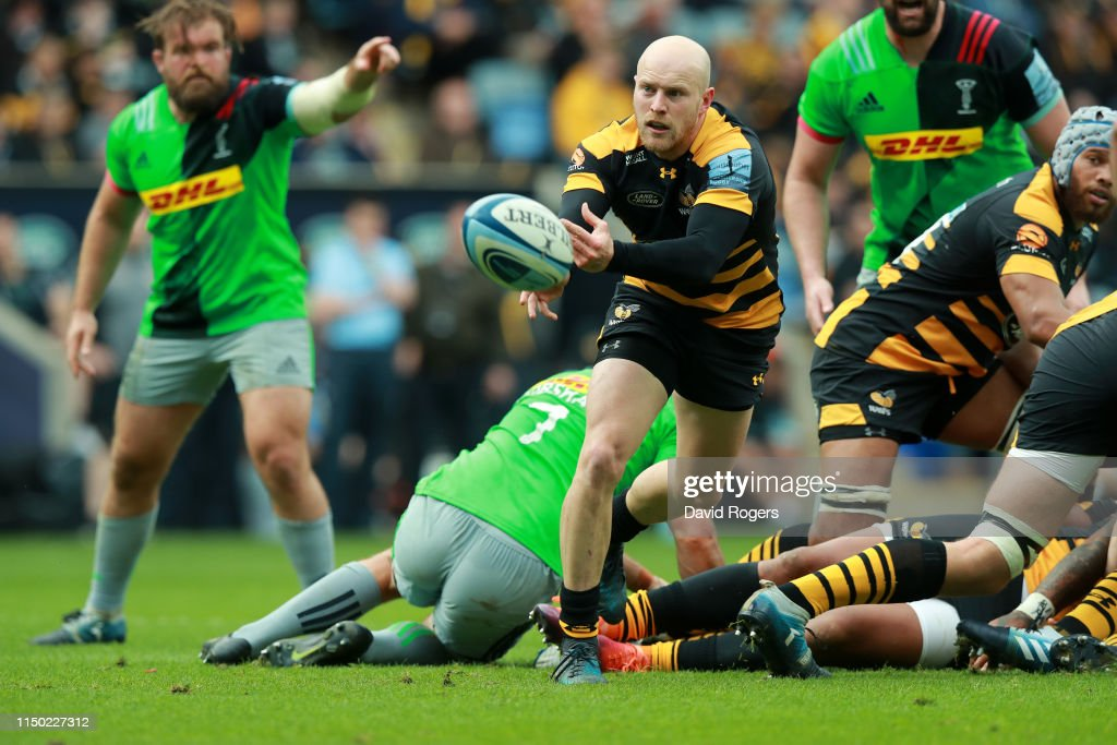 Wasps v Harlequins - Gallagher Premiership Rugby : News Photo