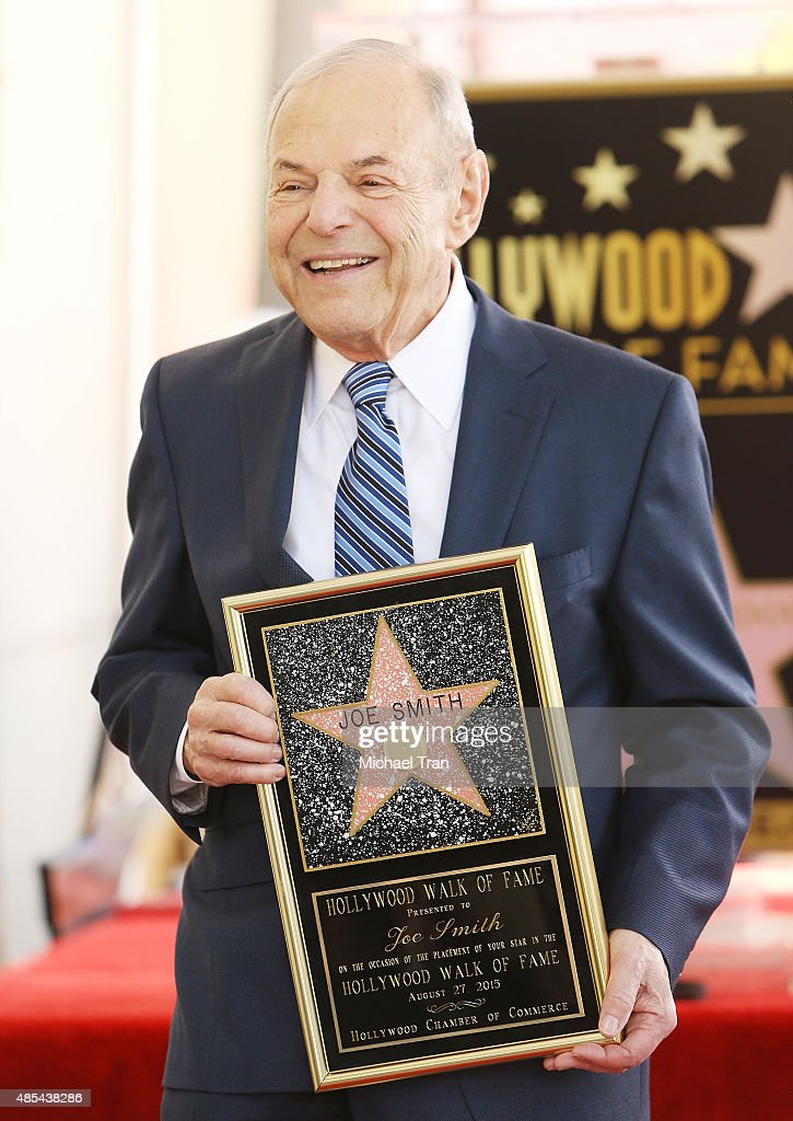 Joe Smith attends the ceremony honoring him with a Star on The Hollywood Walk of Fame on August 27, 2015 in Hollywood, California.