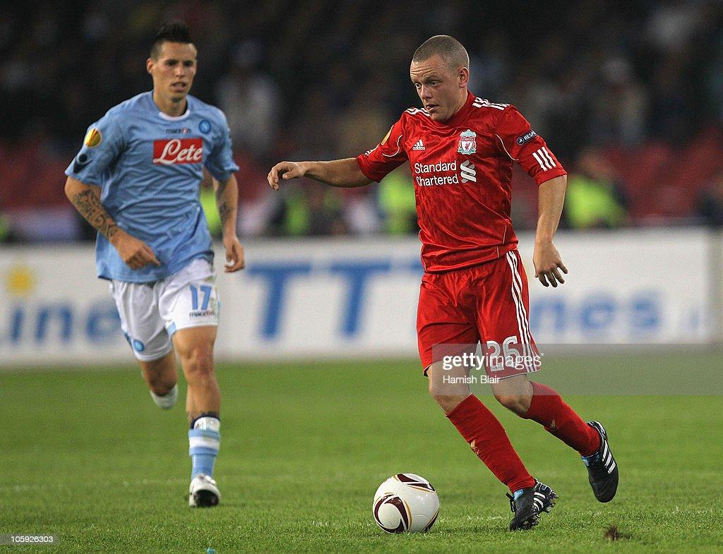 SSC Napoli v Liverpool - UEFA Europa League : News Photo