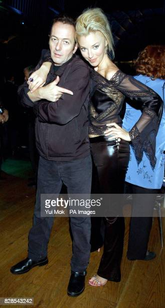 Joe Strummer and Tamara Beckwith arriving for the The Dian Fossey Gorilla Fund rock concert at the Royal Opera House in London's Covent Garden to...