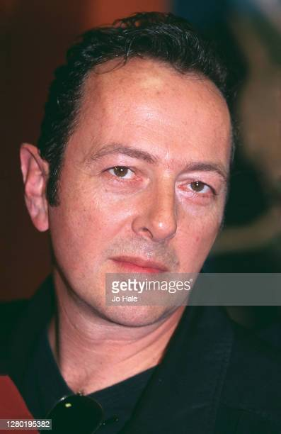 Joe Strummer at Tower Records, in Piccadilly, London on 14th September 2000.