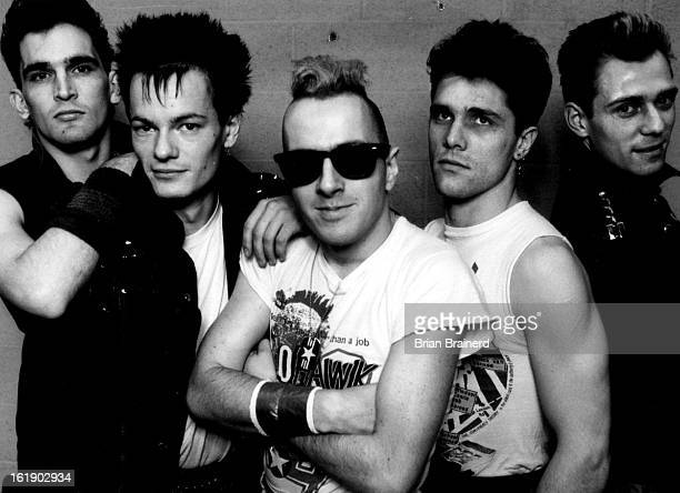 MAY 25 1984 MAY 26 1984 Joe Strummer The Clash