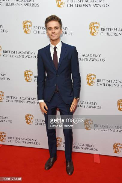 Joe Sugg attends The British Academy Children's Awards 2018 at The Roundhouse on November 25 2018 in London England