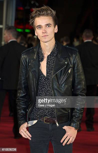 Joe Sugg attends the Laid In America World Premiere at Cineworld 02 Arena on September 26 2016 in London England