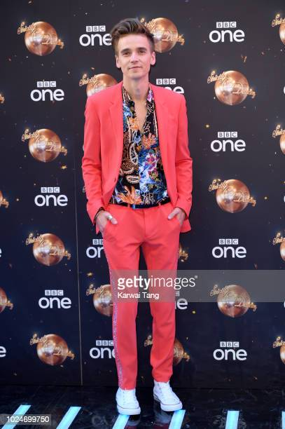 Joe Sugg attends the red carpet launch for 'Strictly Come Dancing 2018' at Old Broadcasting House on August 27 2018 in London England