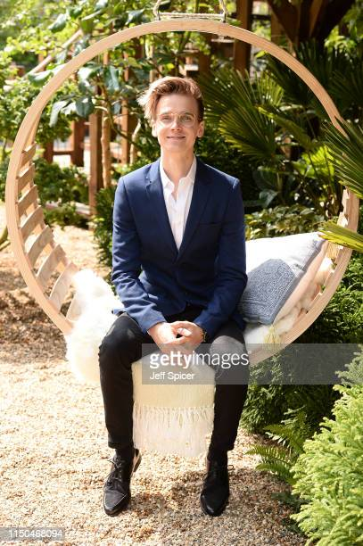 Joe Sugg attends the RHS Chelsea Flower Show 2019 press day at Chelsea Flower Show on May 20 2019 in London England