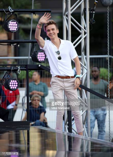 Joe Sugg attends the Strictly Come Dancing launch show red carpet at Television Centre on August 26 2019 in London England