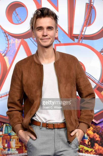 Joe Sugg attends the UK Gala screening of WONDER PARK at Vue Leicester Square on March 24 2019 in London England