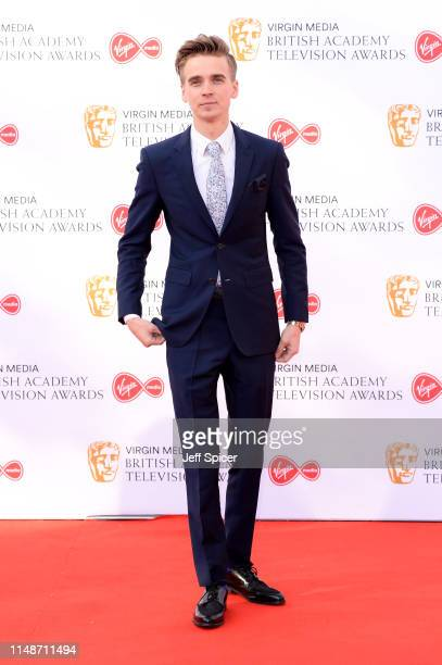 Joe Sugg attends the Virgin Media British Academy Television Awards 2019 at The Royal Festival Hall on May 12 2019 in London England