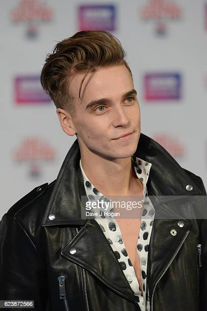 Joe Suggs attends the UK premiere of Joe And Caspar Lee Hit The Road USA at Cineworld Leicester Square on November 17 2016 in London United Kingdom