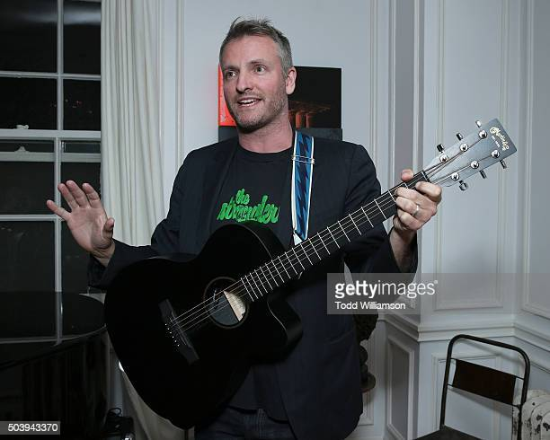 Joe Sumner attends an Intimate Supper For Vivienne Westwood Andreas Kronthaler hosted by Jennifer Howell And Kelly Osbourne at The Art of Elysium...