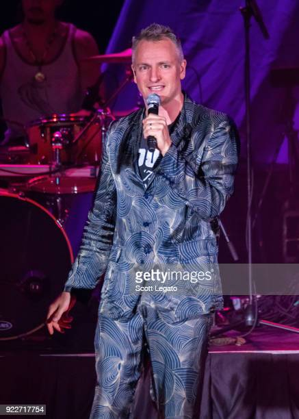 Joe Sumner performs during the Celebrating David Bowie concert at The Royal Oak Music Theater on February 19 2018 in Royal Oak Michigan