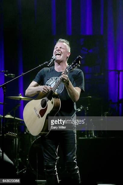 Joe Sumner performs in concert opening for his father Sting at ACL Live on February 19 2017 in Austin Texas