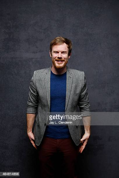 Joe Swanberg is photographed for Los Angeles Times at the 2015 Sundance Film Festival on January 24 2015 in Park City Utah PUBLISHED IMAGE CREDIT...
