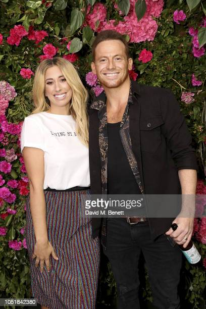 Joe Swash attends the VIP Party with Stacey Solomon as she celebrates the launch of her new collection with Primark on October 10 2018 in London...