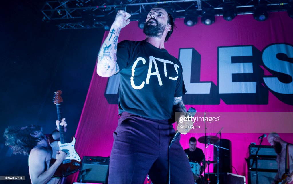 Idles Performs At The O2 Institute Birmingham : News Photo