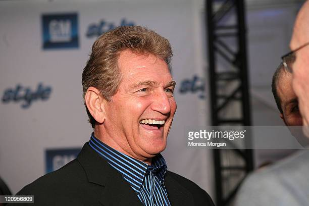 Joe Theismann attends the GM STYLE held at the Detroit Riverfront, Atwater on January 12, 2008 in Detroit, Michigan.