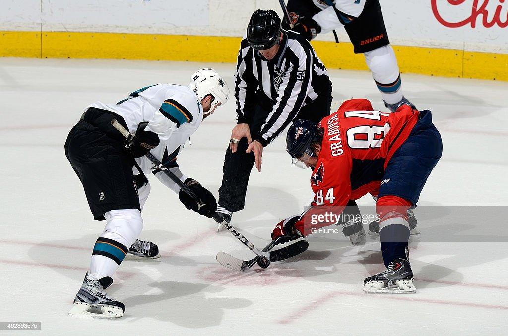 San Jose Sharks v Washington Capitals : News Photo