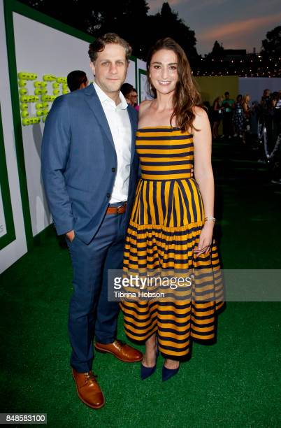 Joe Tippett and Sara Bareilles attend the premiere of Fox Searchlight Picture 'Battle Of The Sexes' at Regency Village Theatre on September 16 2017...