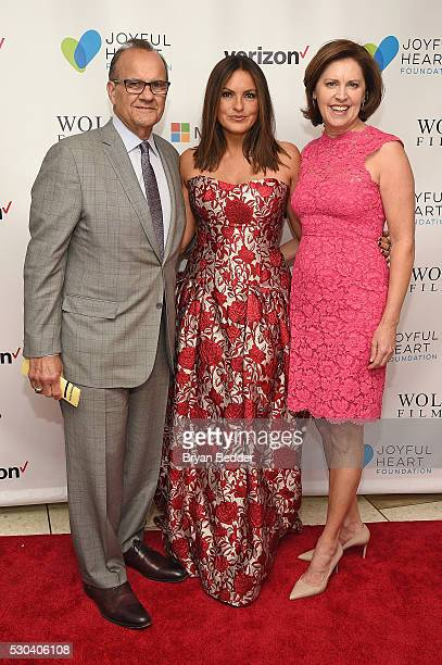 Joe Torre Actress and Joyful Heart Foundation Founder and President Mariska Hargitay and Alice Wolterman attend The Joyful Revolution Gala hosted by...