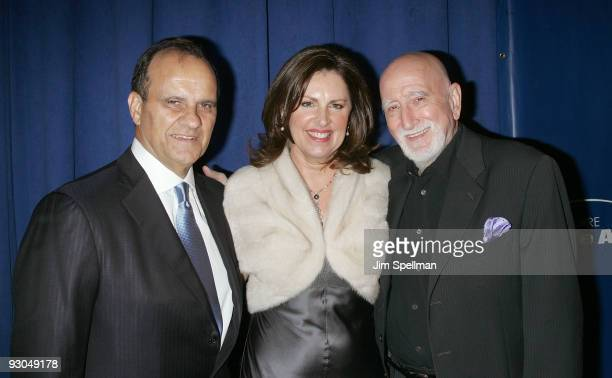 Joe Torre Ali Torre and Dominic Chianese and attend the 7th annual Safe at Home gala at Pier Sixty at Chelsea Piers on November 13 2009 in New York...