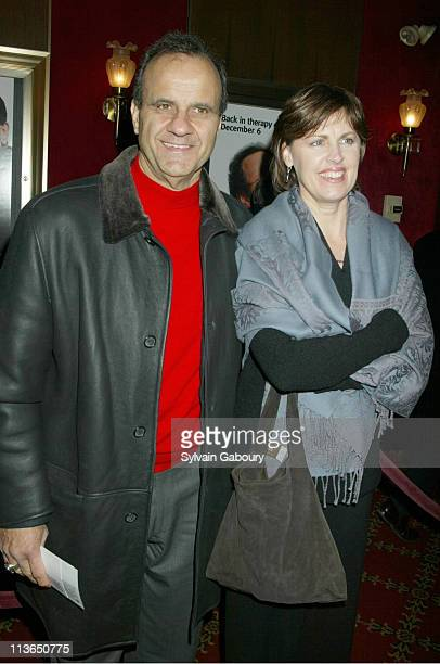 Joe Torre Alice Wolterman Torre during World Premiere of Warner Bros' Analyze That at Ziegfeld Theater in New York New York United States