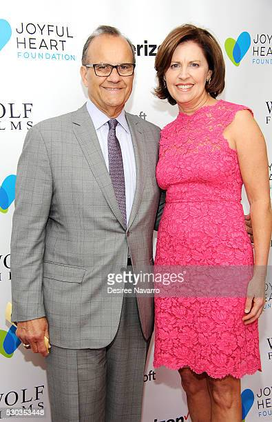 Joe Torre and Alice Wolterman attend 2016 Joyful Revolution Gala on May 10 2016 in New York New York